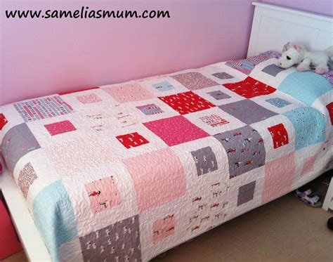 How To Make A Simple Quilt For Beginners by Samelia S 1 2 Easy Quilt Pattern Tutorial