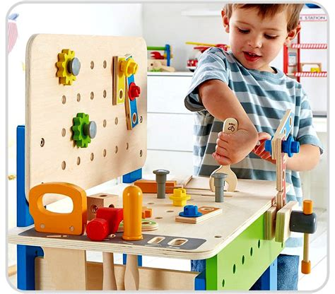hape tool bench hape master workbench cool toy review