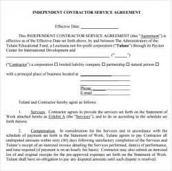 Services Agreement Template Free by Sle Service Agreement Template 6 Free Documents