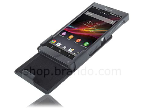 Xperia Zl Sony C6502 Backdoor Tutup Casing Back Cover Belakang sony xperia zl protective with holster