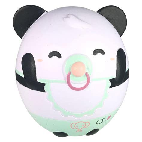 Panda Egg Squishy nani squishy scented and big baby panda egg lyn