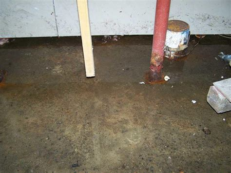 Standing Water In Floor Drain by Connecticut Basement Systems Basement Waterproofing