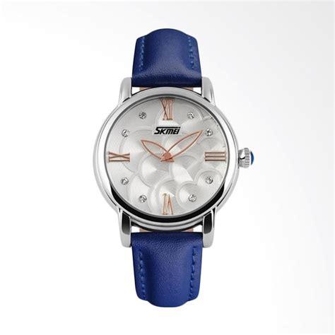 Jam Tangan Wanita Skmei 1133 jual skmei a 9095 jam tangan wanita silver blue