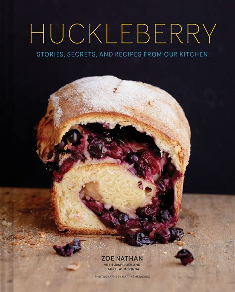 Zhoey Culture Coffee the new huckleberry cookbook has a whole chapter devoted