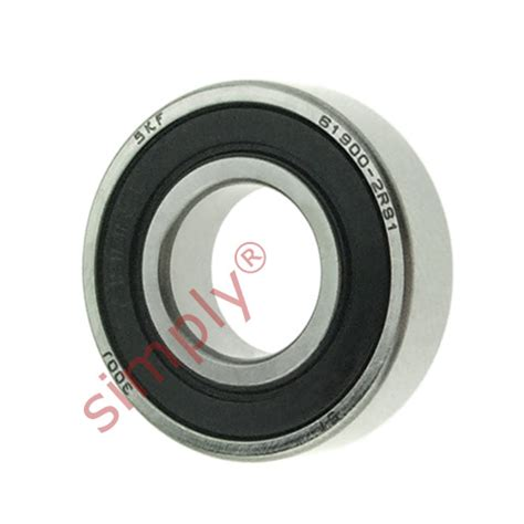 thin section ball bearings skf 619002rs1 rubber sealed thin section deep groove ball