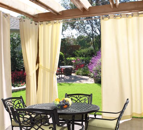 Patio Drapes Patio Outdoor Patio Drapes Home Interior Design