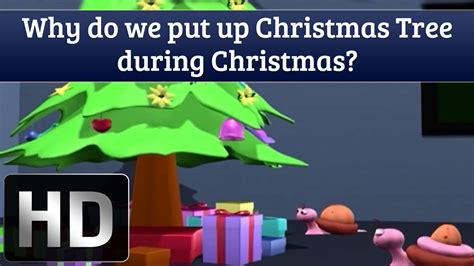 why do we put up christmas tree during christmas