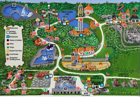 marineland canada map marineland marineland park map