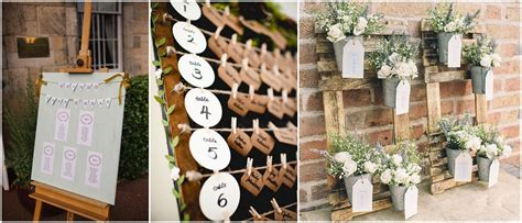 Mirror Ideas wedding ideas alternative seating plan presentation