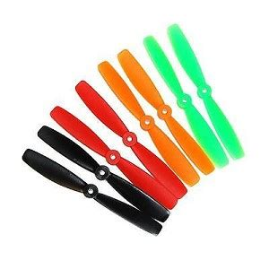 Dys Xt2030 3 Blade Prop Cwccw dys 5045 t 5x4 5 cw ccw abs propellers 2 pairs orange