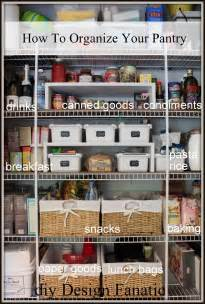 Organize Your Pantry by Diy Design Fanatic How To Organize Your Pantry
