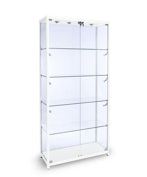 1000mm aluminium glass display cabinet