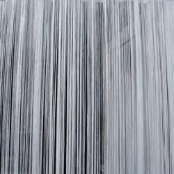 Grey string curtain