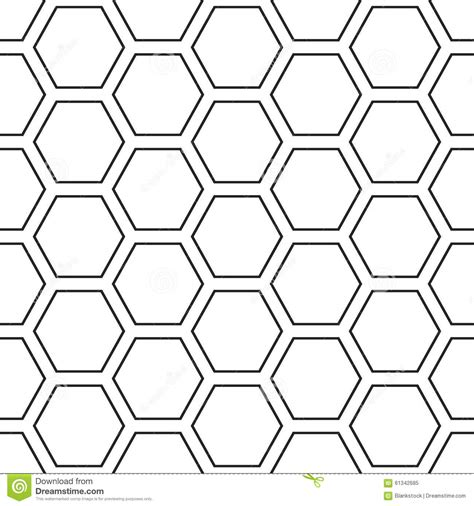 repeat pattern grid hex stripped grid seamless pattern stock vector image