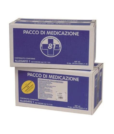 cassetta pronto soccorso allegato 1 pacco reintegro per cassette pronto soccorso allegato 1