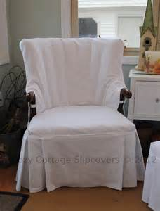 Office Chair With Arms Slipcover Cozy Cottage Slipcovers