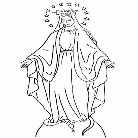 imágenes religiosas imágenes religiosas imagenes de la virgen dibujosparacolorear