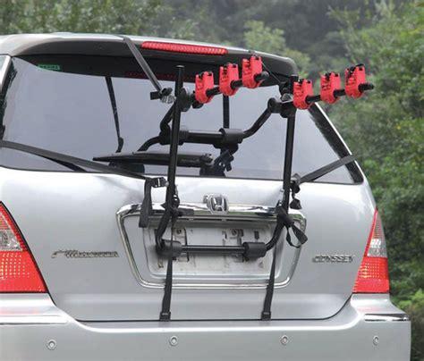 What Bike Rack Fits Car 3 bike fully adjustable rear mounted car bicycle holder