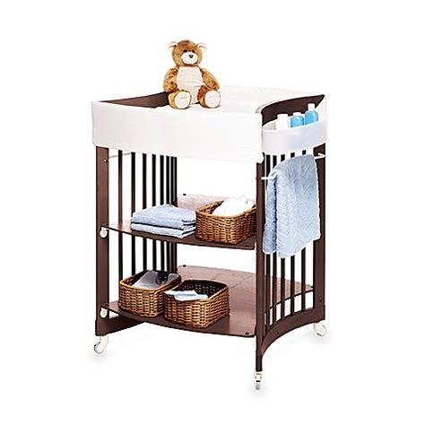 Stokke Care Changing Table Stokke 174 Care Walnut Changing Table System Bed Bath Beyond