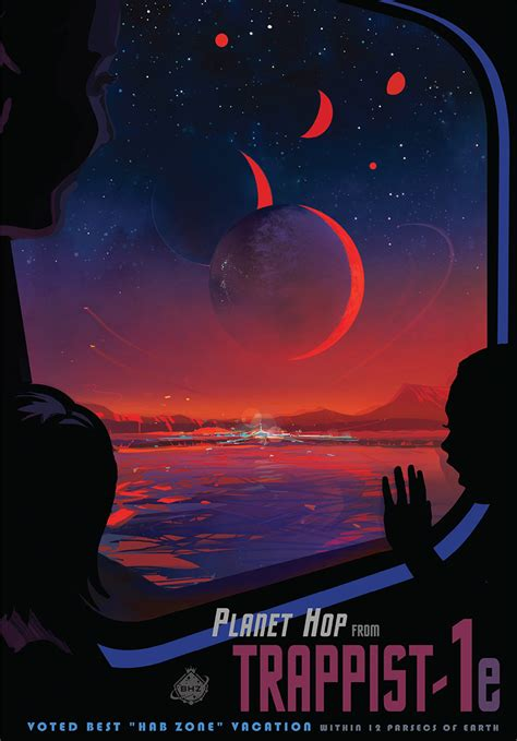 nasa design poster exoplanet exploration planets beyond our solar system