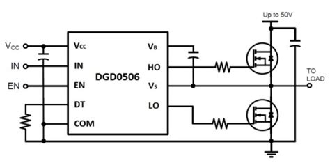 bootstrap transistor driver high frequency fet a new gate driver ic from diodes incorporated