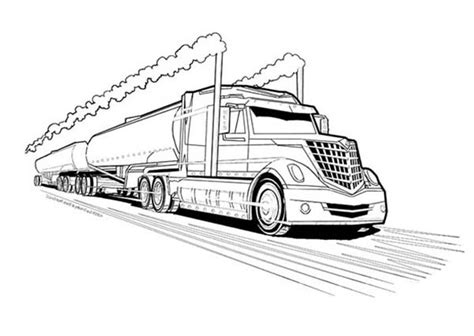 oil truck coloring page truck coloring pages bestofcoloring com