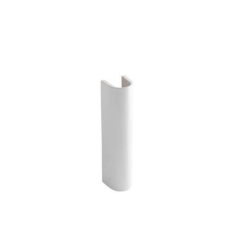 kohler pedestal sink home depot kohler veer vitreous china pedestal in white k r5246 0