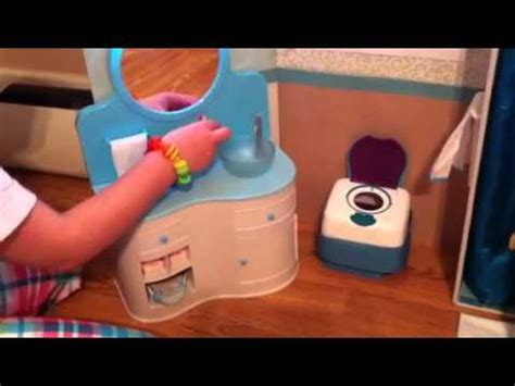 how to make an american girl doll bathroom american girl doll bathroom with chrissa youtube