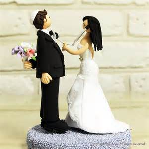 doctor couple custom wedding cake topper decoration by annacrafts