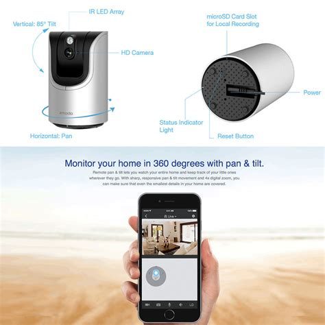 Wifi Cctv For Ios Android Pc zmodo wifi ip wireless network security cctv hd for pc iphone android app ebay