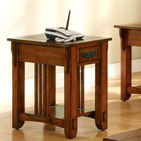 mission style side table living room furniture mission furniture craftsman