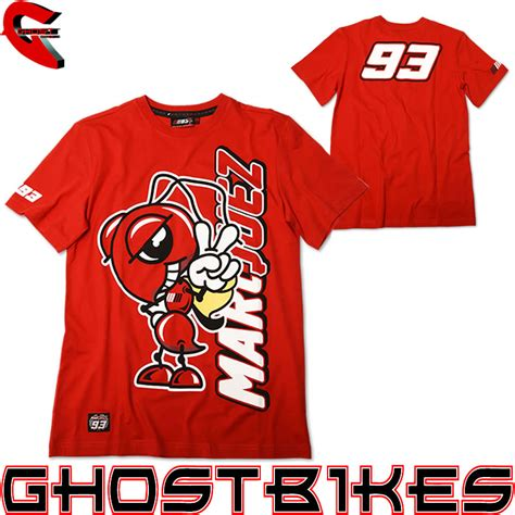 Kaosbajut Shirt Marquezmotor marc marquez 93 official moto gp motorcycle branded mens t shirt ghostbikes ebay