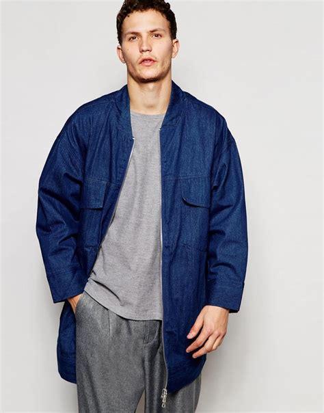 trend denim outerwear reigns supreme  asos