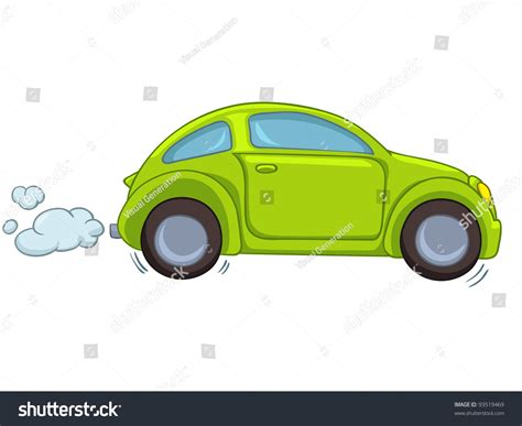 a pic of a car car isolated on white background vector eps8