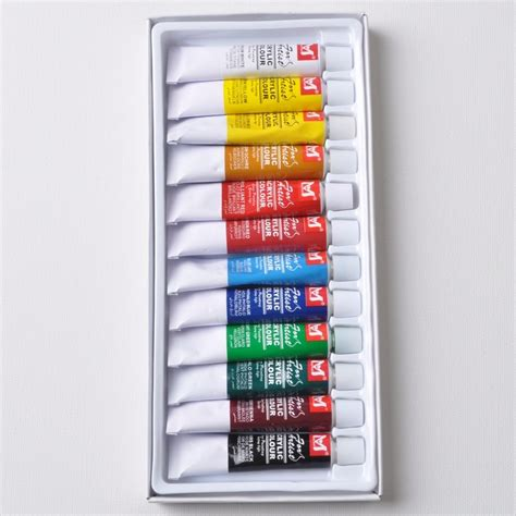 difference in acrylic paint quality high quality 12 colors acrylic paint with cheap price