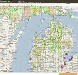 Michigan Public Land Map by 2010 Michigan Deer Hunting Forecast