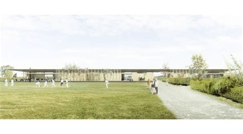 Sutherland Hussey Sessay by Four Shortlisted For Sessay Sports Pavilion Archdaily