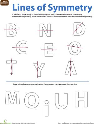 Lines Of Symmetry Worksheets by Symmetry Worksheet 4th Grade New Calendar Template Site