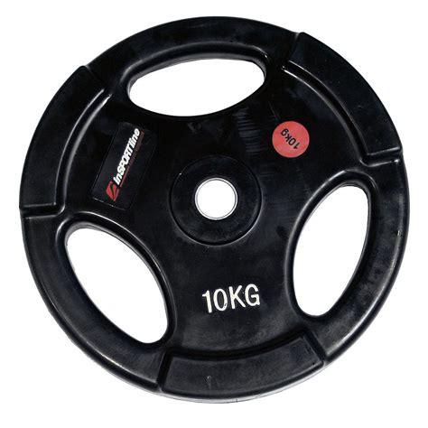 10kg ergo weight plate insportline insportline