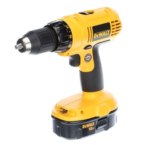 Home Depot Tools by Dewalt 18 Volt Ni Cad Cordless Combo Kit 2 Tool Dck235c