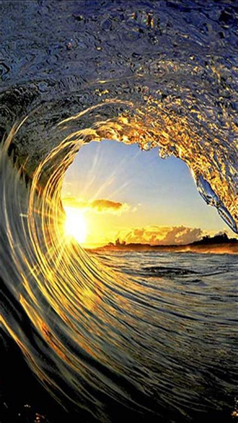 wallpaper iphone waves wave tunnel hd iphone wallpapers iphone 5 s 4 s 3g