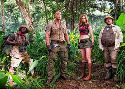 film jumanji welcome to the jungle subtitle indonesia cinemacon 2017 jumanji welcome to the jungle footage