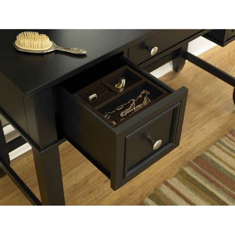 home styles vanity table bedford black vanity table homestyles