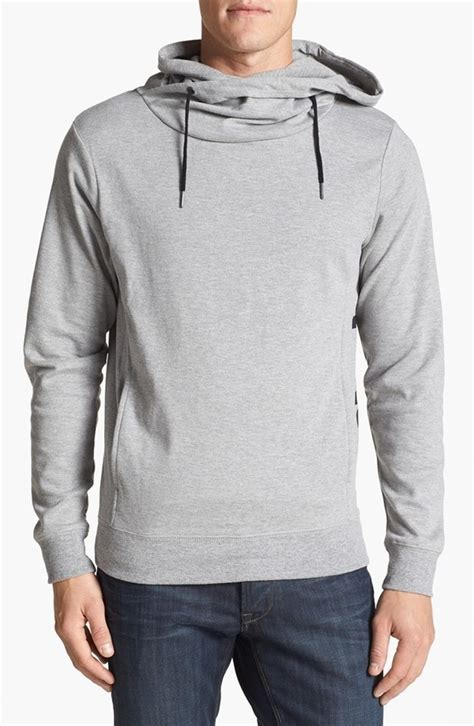 bench hoodies men grey hoodie bench pullover funnel neck hoodie where to