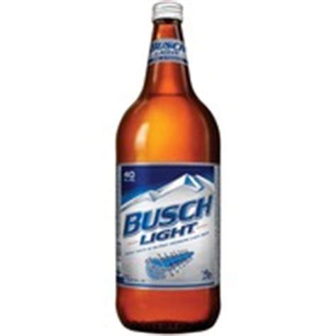 Busch Light Calories by Busch Light 40 Oz Calories Nutrition Analysis
