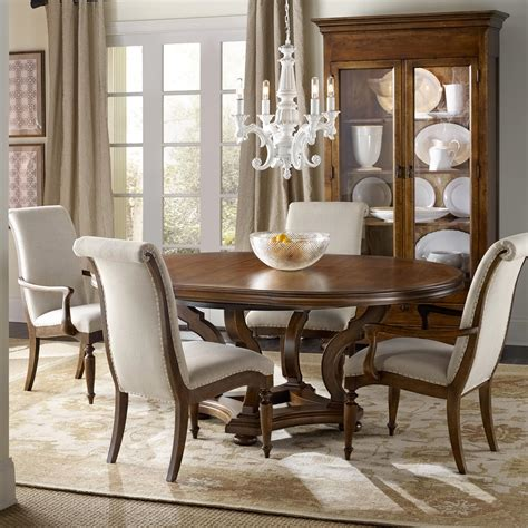 hooker dining room sets hooker furniture archivist 5 piece dining set with round