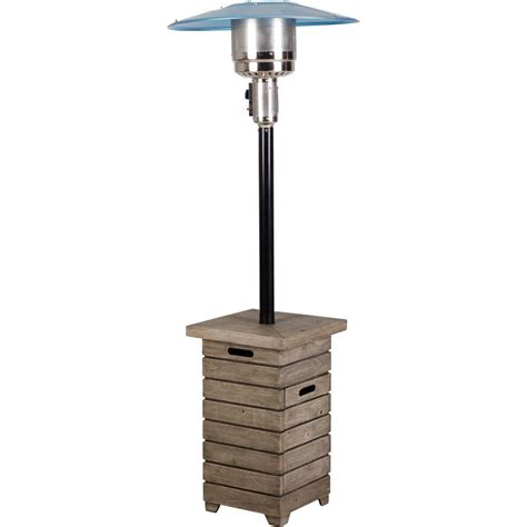 propane patio heater home depot hton bay 40 000 btu stainless steel propane gas patio