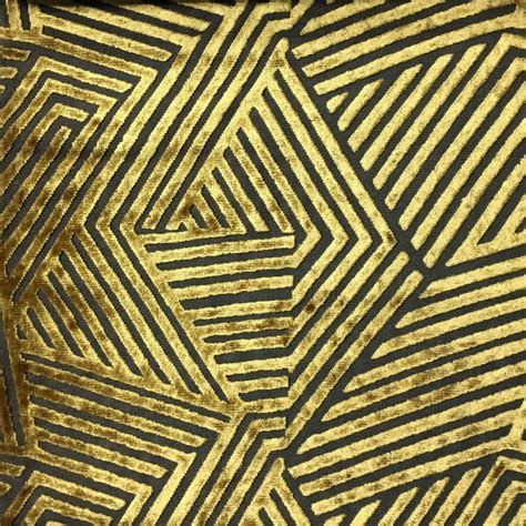decorator upholstery fabric aurora geometric burnout velvet upholstery fabric by the