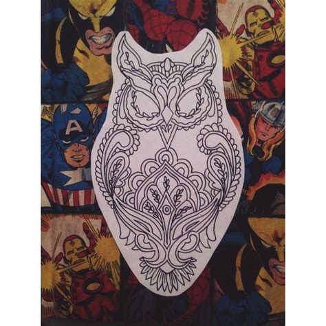 draw my tattoo my owl drawing owl draw drawing design geometric