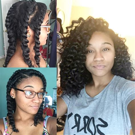 Flat Twist Out Hairstyles For Hair by Protective Hair Styles On Instagram By